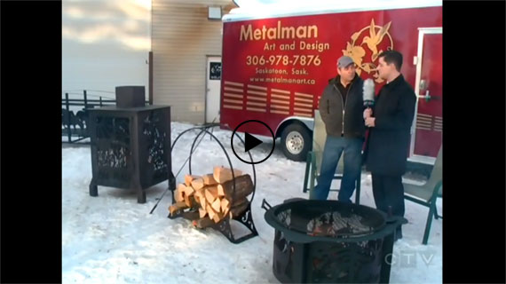 Metalman on CTV Saskatoon